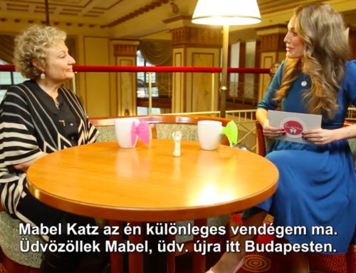 Beszélgetésem Mabel Katz békenagykövettel